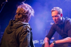 Zanger Brian Lynch met zijn vrouw Kim Clijsters op #Lokale Helden Bocholt